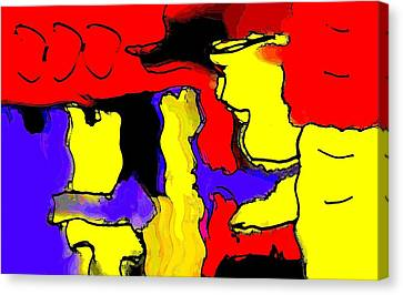 Abstract 4 Canvas Print by Paulo Guimaraes