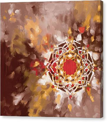 Abstract 426.3 Canvas Print by Mawra Tahreem