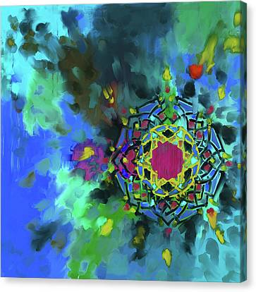 Abstract 426.4 Canvas Print by Mawra Tahreem