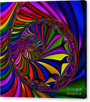 Abstract 527 Canvas Print by Rolf Bertram