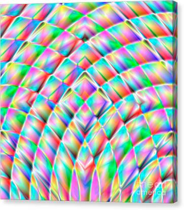 Abstract 713 Canvas Print by Rolf Bertram