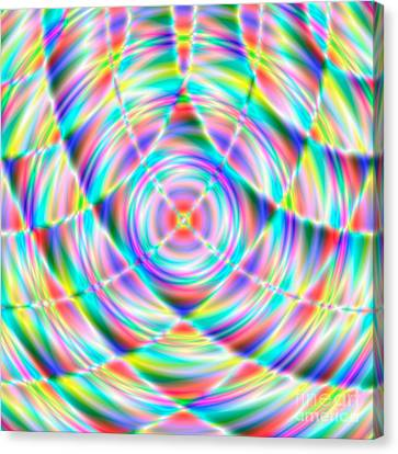 Abstract 722 Canvas Print by Rolf Bertram