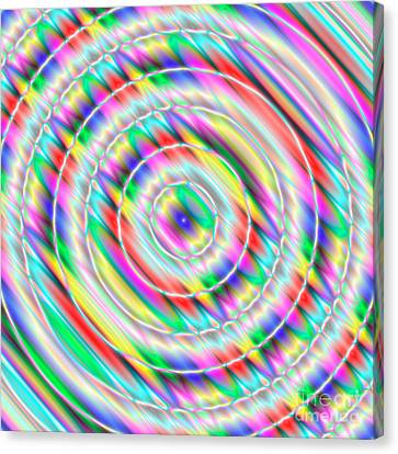 Abstract 732 Canvas Print by Rolf Bertram