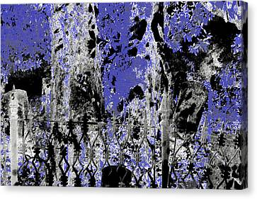 Abstract Cemetery Canvas Print by EnDora TwinkLens