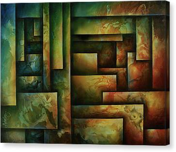 Abstract Design 102 Canvas Print by Michael Lang