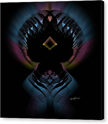 Abstract Design 5 Canvas Print by Anthony Caruso