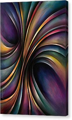 Abstract Design 55 Canvas Print by Michael Lang
