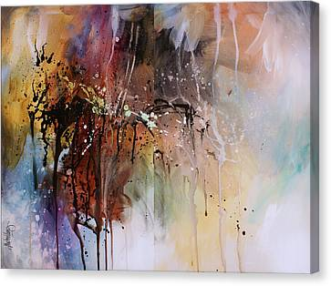 Abstract Design 80 Canvas Print by Michael Lang