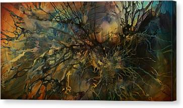 Abstract Design 88 Canvas Print by Michael Lang