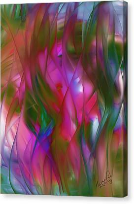 Abstract Dreams Canvas Print by Gina Lee Manley