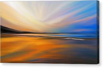 Abstract Energy Canvas Print by Anthony Fishburne