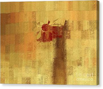 Abstract Floral - 14v2ft Canvas Print by Variance Collections