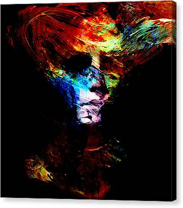 Abstract Ghost Canvas Print by Marian Voicu