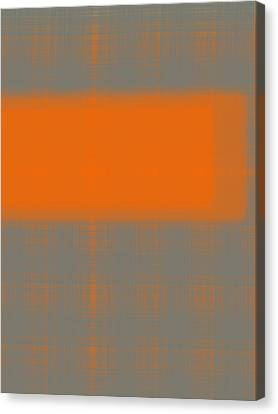 Abstract Orange 3 Canvas Print by Naxart Studio