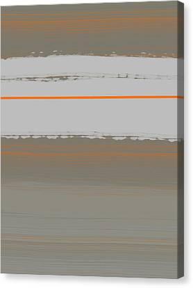 Abstract Orange 4 Canvas Print by Naxart Studio