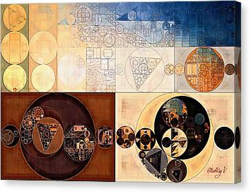 Abstract Painting - Dairy Cream Canvas Print by Vitaliy Gladkiy