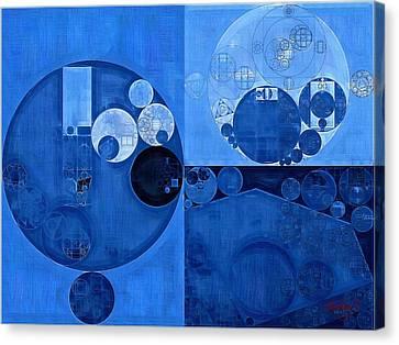 Abstract Painting - Denim Canvas Print by Vitaliy Gladkiy
