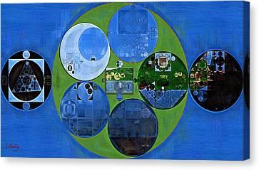 Abstract Painting - Everglade Canvas Print by Vitaliy Gladkiy
