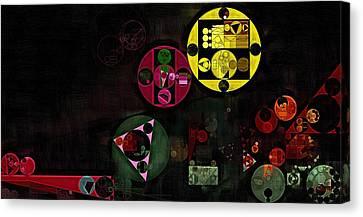 Abstract Painting - Metallic Gold Canvas Print by Vitaliy Gladkiy