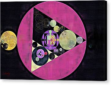 Abstract Painting - Mulberry Canvas Print by Vitaliy Gladkiy
