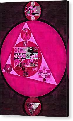 Abstract Painting - Persian Pink Canvas Print by Vitaliy Gladkiy