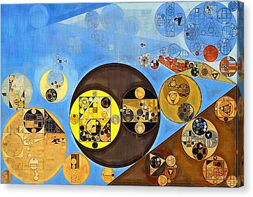 Abstract Painting - Rob Roy Canvas Print by Vitaliy Gladkiy