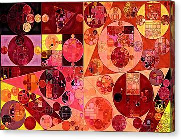 Abstract Painting - Salmon Canvas Print by Vitaliy Gladkiy
