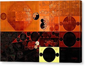 Abstract Painting - Sinopia Canvas Print by Vitaliy Gladkiy