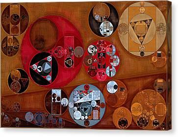 Abstract Painting - Zorba Canvas Print by Vitaliy Gladkiy