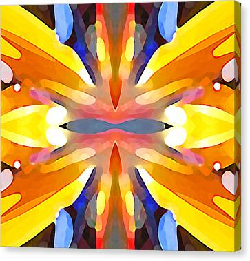 Abstract Paradise Canvas Print by Amy Vangsgard