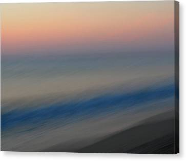Abstract Seascape 1 Canvas Print by Juergen Roth