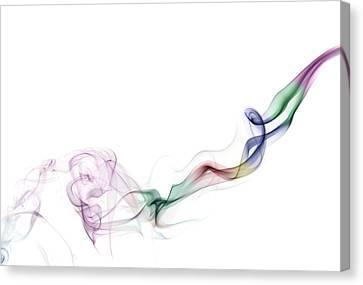 Abstract Smoke Canvas Print by Setsiri Silapasuwanchai