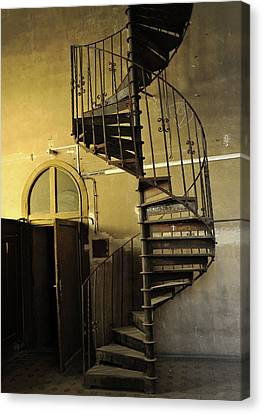Abstract Staircase Canvas Print by Akos Horvath
