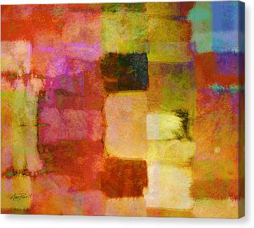 Abstract Study One Canvas Print by Ann Powell