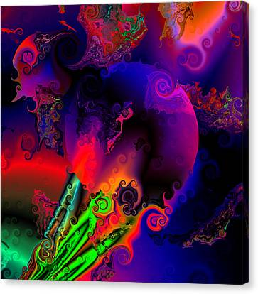 Abstract World 22 Canvas Print by Claude McCoy