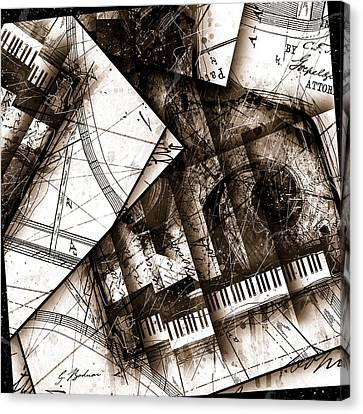 Abstracta 24 Cadenza Canvas Print by Gary Bodnar