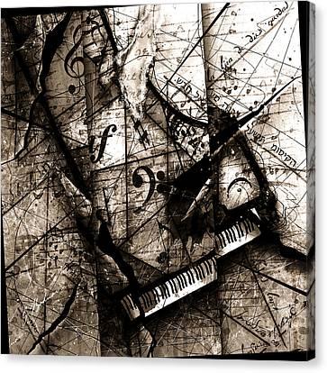 Abstracta 27 The Grand Illusion  Canvas Print by Gary Bodnar