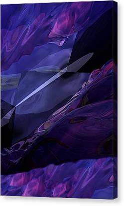 Abstractbr6-1 Canvas Print by David Lane