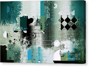Abstracture - 21pp8bb Canvas Print by Variance Collections