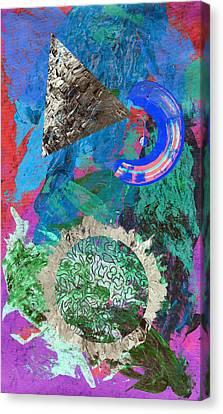 Acidic Bite Canvas Print by Sumit Mehndiratta