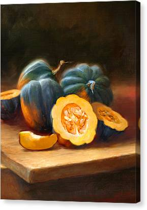 Acorn Squash Canvas Print by Robert Papp