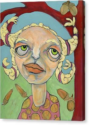 Acorns Canvas Print by Michelle Spiziri