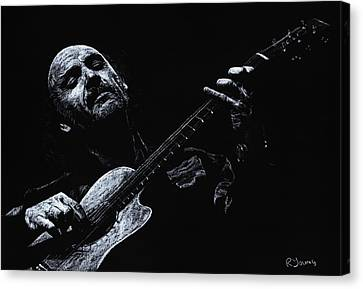 Acoustic Serenade Canvas Print by Richard Young