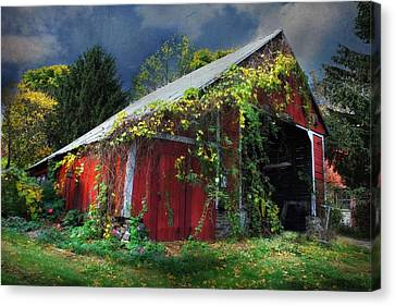 Adams County Winery Canvas Print by Lori Deiter