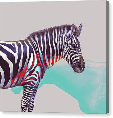 Adapt To The Unknown Canvas Print by Uma Gokhale