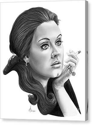 Adele Canvas Print by Murphy Elliott