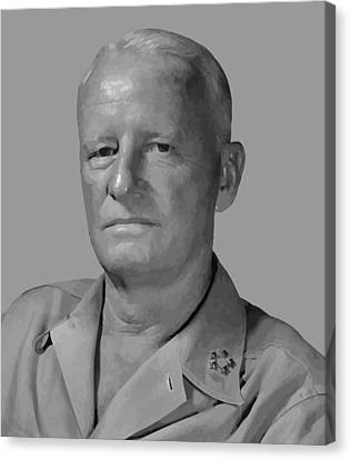 Admiral Chester Nimitz Canvas Print by War Is Hell Store