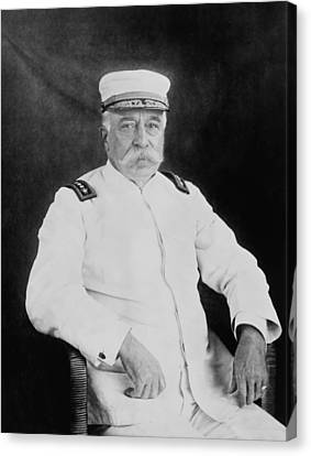 Admiral George Dewey Canvas Print by War Is Hell Store