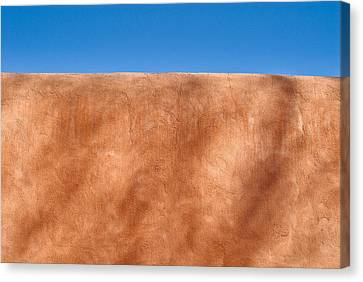 Adobe Wall Santa Fe Canvas Print by Steve Gadomski