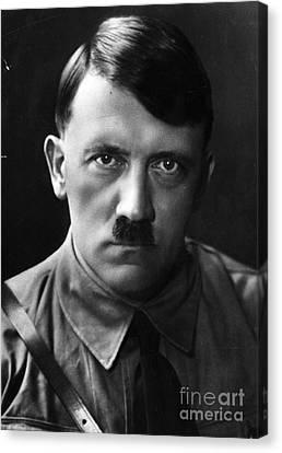 Adolf Hitler Portrait  Canvas Print by R Muirhead Art